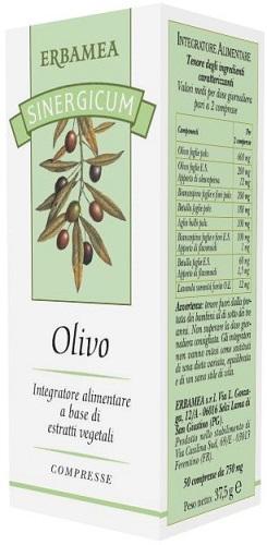 SINERGICUM OLIVO 50 COMPRESSE