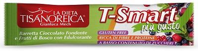 TISANOREICA STYLE BARRETTA T SMART FRUTTI BOSCO CIOCCOLATO FONDENTE 35 G