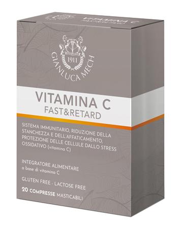 TISANO COMPLEX VITAMINA C & RETARD 20 COMPRESSE