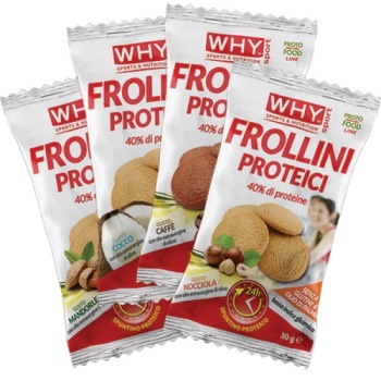 WHYNATURE FROLLINI PROTEICI CAFFE' 30 G