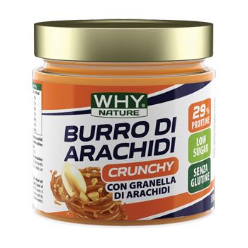 WHYNATURE BURRO ARACHIDI CRUNCHY 350 G