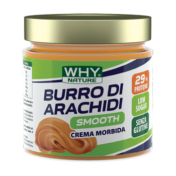 WHYNATURE BURRO ARACHIDI SMOOTH 350 G