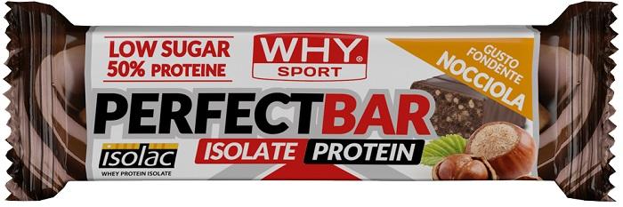 WHYSPORT PERFECT BAR FONDENTE NOCCIOLA 50 G